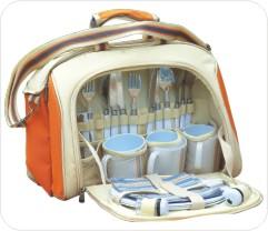 深圳市真之礼礼品有限公司:朗弗罗:米色四人组野餐包
